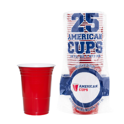 Red Cups - Rood - 473ml (25st)