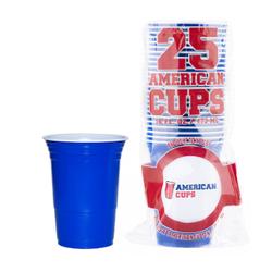 Blue Cups - Blauw - 473ml (25st)