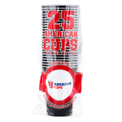Black Cups - Zwart - 473ml (25st)