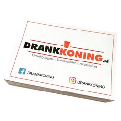 DrankKoning Sticker - A7 - 10.5 x 7.4cm