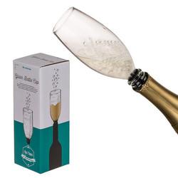 Champagneglas voor op de fles
