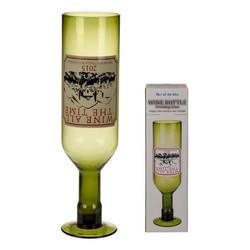 XXL Wijnglas - Omgekeerde Wijnfles - 750ml