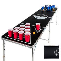 Bierpong Tafel - Beer Pong Table - Opvouwbaar en draagbaar als koffer